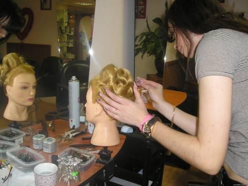 Урок по свадебным причёскам.